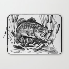 Black Bass Laptop Sleeve