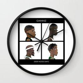 Gianniz: Deer Noise Days Wall Clock