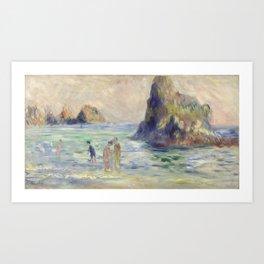 Renoir Guernsey Art Painting Art Print