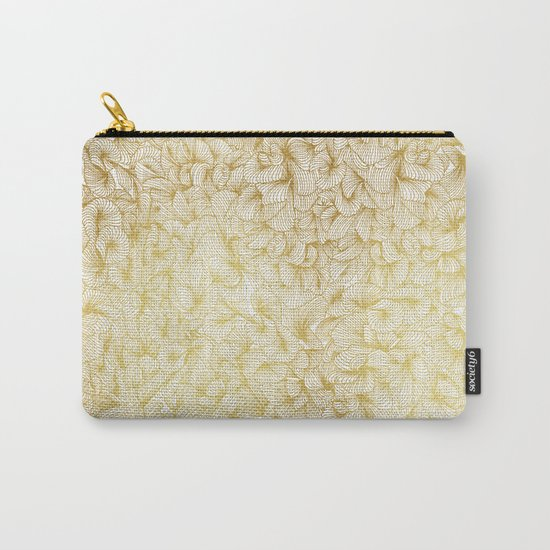 Gold Inklings Carry-All Pouch
