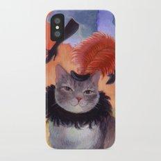 Madame Musket iPhone X Slim Case