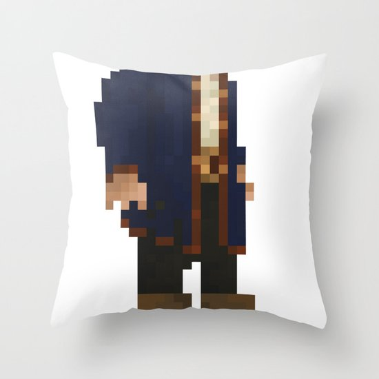Pixel Ranger Throw Pillow