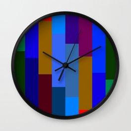 """Technicolor Beat"" Wall Clock"