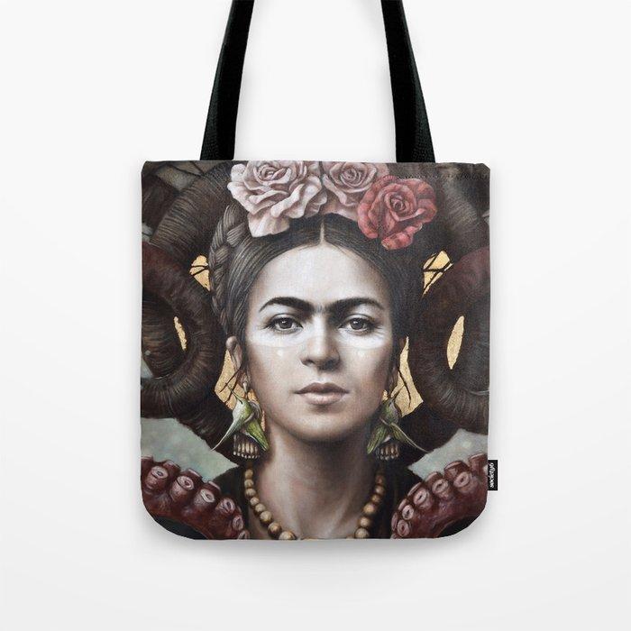 Hommage a Frida 5 Tote Bag