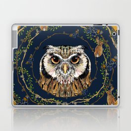 Woodland Owl Laptop & iPad Skin