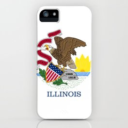 Illinois flag  iPhone Case