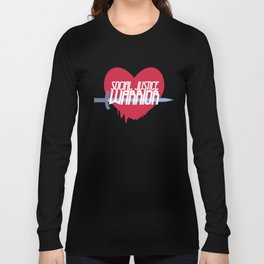 Social Justice Warrior Long Sleeve T-shirt