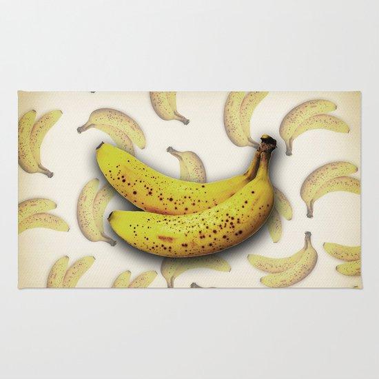 brown bananas Rug