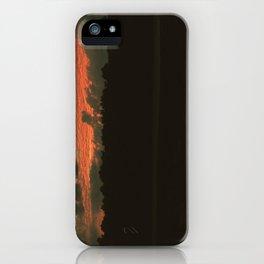 Fiery Skies iPhone Case