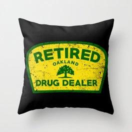 RDD Oakland Throw Pillow