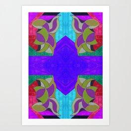 七 (Qī) Art Print