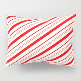 Candy Cane Stripes Pillow Sham