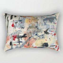 good luck, shallow sky Rectangular Pillow