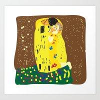 klimt Art Prints featuring klimt by John Sailor