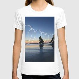 Ocean light rays T-shirt