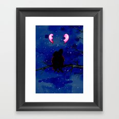 Two Broken Hearts  Framed Art Print