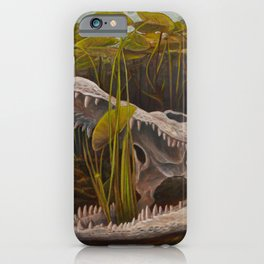 Lily Gator iPhone Case