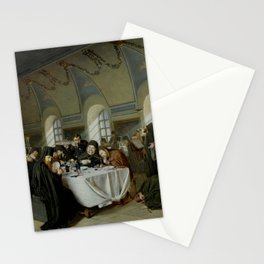 Vasily Perov - Monastic Refectory Stationery Cards