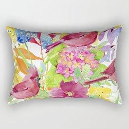 Lovely Birds Rectangular Pillow