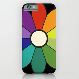 James Ward's Chromatic Circle (interpretation) iPhone Case