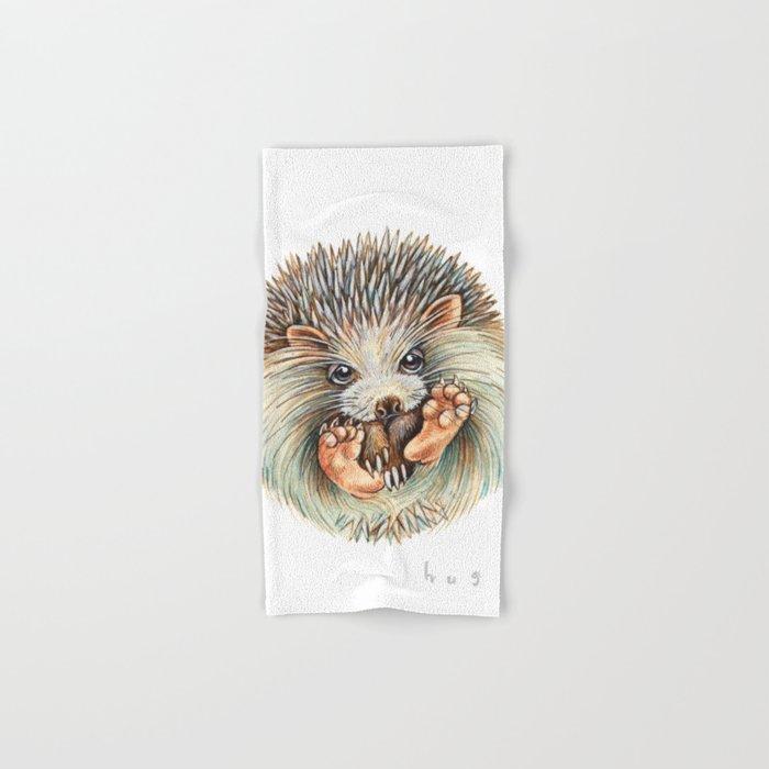 Hedgehog ball Hand & Bath Towel
