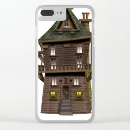 The Wood Cutter's House Clear iPhone Case