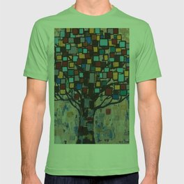 :: Stained Glass Tree :: T-shirt