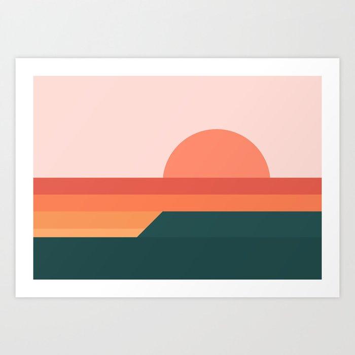 Sunseeker 08 Landscape Kunstdrucke