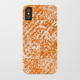 Orange Delight (Squares) iPhone Case