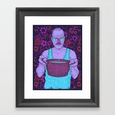 Cook (fiolet) Framed Art Print