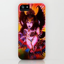 Kitana The Angel of Death iPhone Case