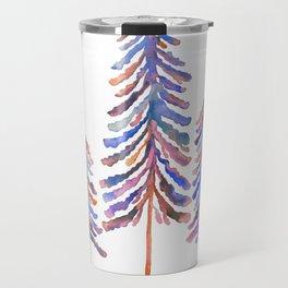 Pine Trees – 90s Color Palette Travel Mug