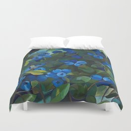 A Blueberry View Duvet Cover