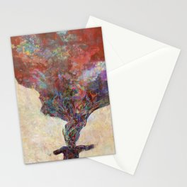 Autumn spreading out Stationery Cards