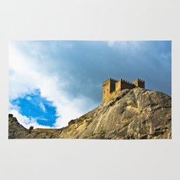 Genoese fortress in Sudak Rug