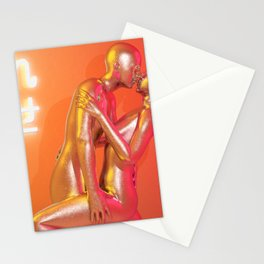 Electronic Kiss Stationery Cards
