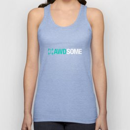 AWDSOME v3 HQvector Unisex Tank Top