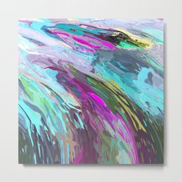 471 - Abstract colour Design Metal Print