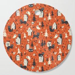 Cemetery Cuties (Orange) Cutting Board