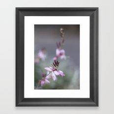 Little Pink Flower Framed Art Print
