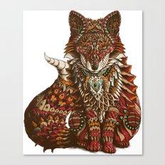 Red Fox (Color Version) Canvas Print