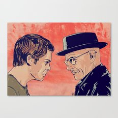 Dexter and Walter Canvas Print