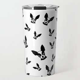 Chihuahua Black White Travel Mug