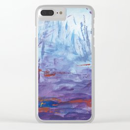Forest Spirits Clear iPhone Case