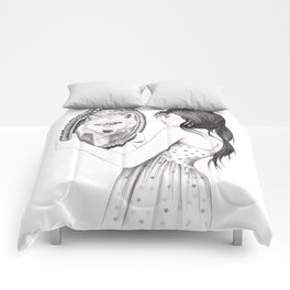 White Ghost Comforters