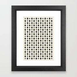 Vintage Jewels - Black Framed Art Print