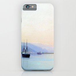 A Bay 1880 By Lev Lagorio   Reproduction   Russian Romanticism Painter iPhone Case