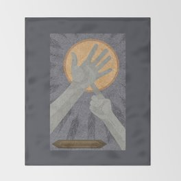 Dandelions - (Artifact Series) Throw Blanket