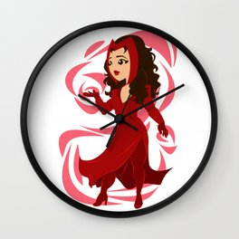 From Capes to Coats Wall Clock