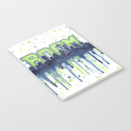 Seattle Boom Watercolor Notebook
